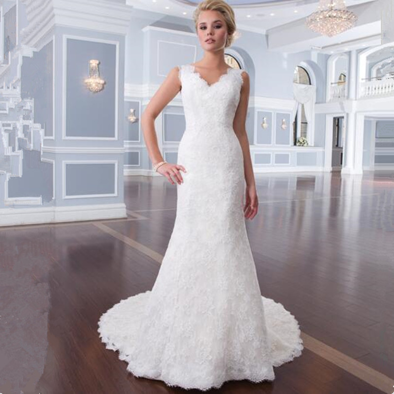 Online get cheap latest wedding dress styles aliexpress for Plus size wedding dresses mermaid style