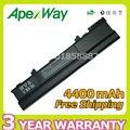 Apexway 6 celdas 10.8 v 4400 mah batería del ordenador portátil para dell xps m1210 312-0436 451-10356 451-10370 cg036 nf343
