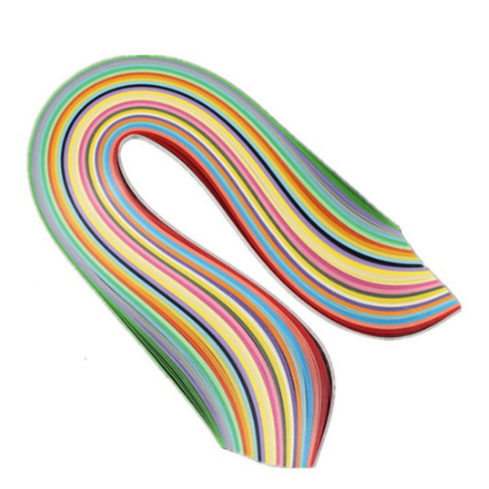 Diy 26 Colors 260 Stripes Quilling Paper Assorted Color Origami Mouse Diagram Embroidery 1772 Width 7mm L 38cm Handmade Artwork Flower Supplies In Craft From Home
