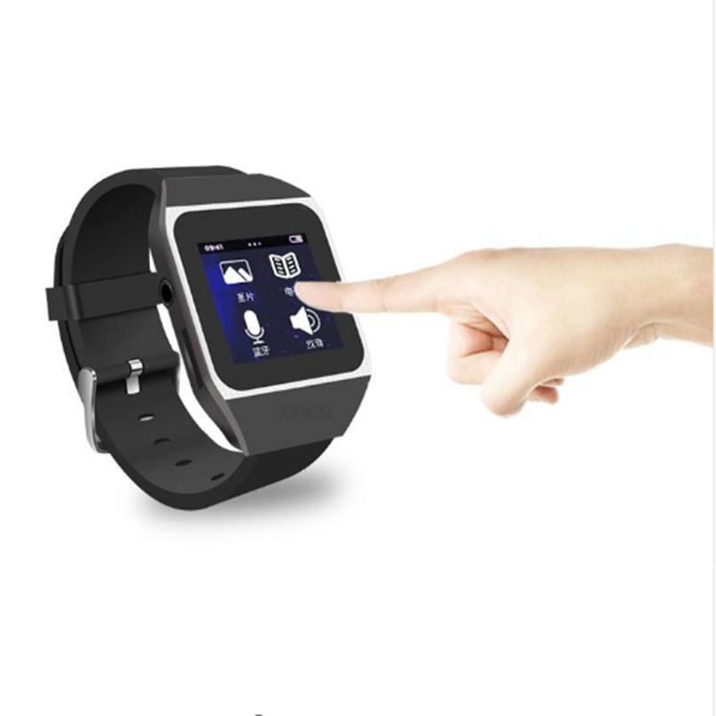 Hot sale 8GB Sports Watch Bluetooth mp3 Music player with 1 4 Touch Screen Support Bluetooth
