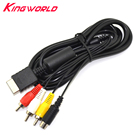 High quality S-Video AV Audio Video Cable for Sony PlayStation PS2 for PS3 S video cable