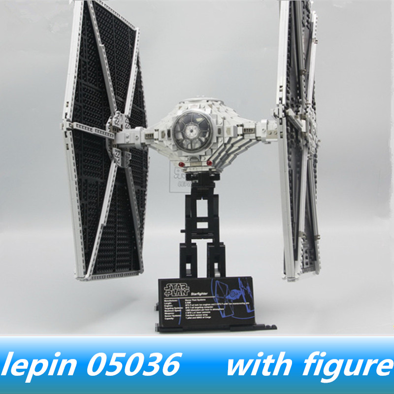 Lepin 05036 lepin Star Wars Tie Fighter Compatible legoing starwars Tie Fighter Legoing 75095 Building Blocks Toys for child oleku hotsale star wars resistance x wing tie advanced prototype micro fighter starwars the wookiee gunboat building blocks toys