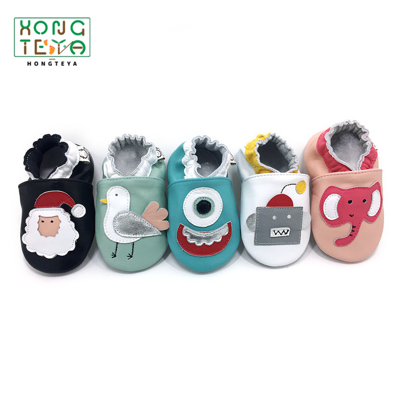 Cartoon Animal Monkey Bee Baby Shoes Soft Soled Toddlers Infant Baby Moccasins Boys Girls Newborn Shoes Learning To Walk