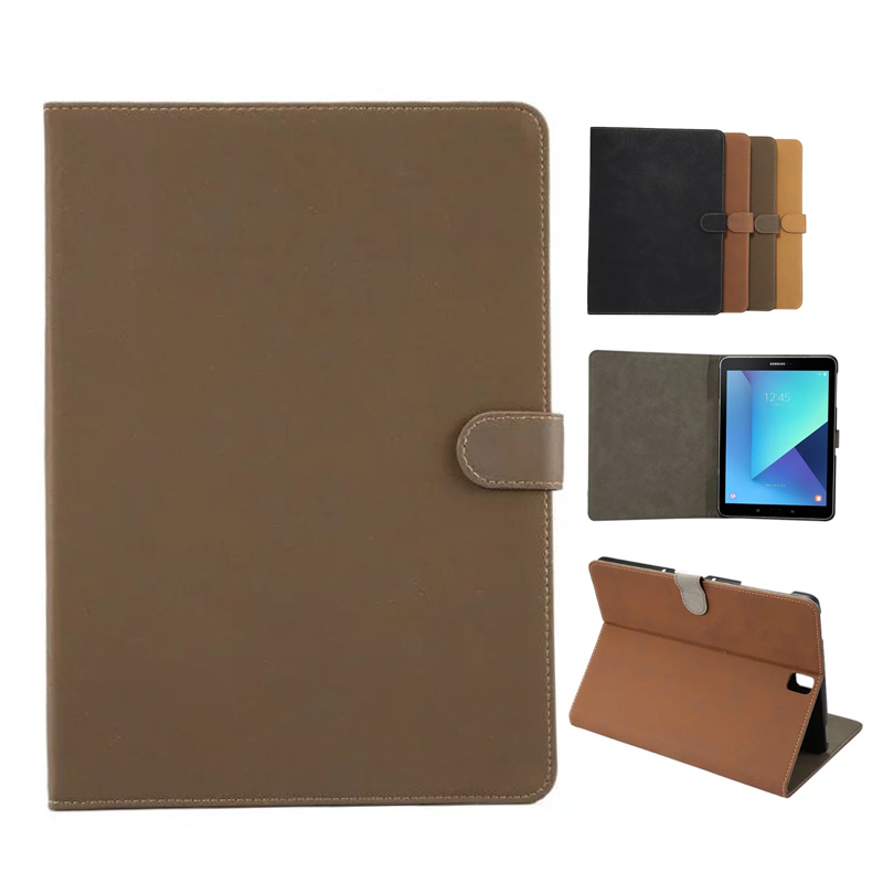 Tab S3 T820 Retro Tablet Leather Case Cover Slim Shockproof Stand Skin For Samsung Galaxy Tab S3 9.7'' T820 T825 SM-T820 Fundas 360 rotating folio pu leather skin case flip cover for samsung galaxy tab s3 t820 t825 9 7 inch sm t820 sm t825 tablet case