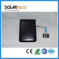 Solarparts 1 pcs 6V/3.5W 580mA Solar Module Portable Waterproof solar power bank  Solar Battery Charger for Cell Phone