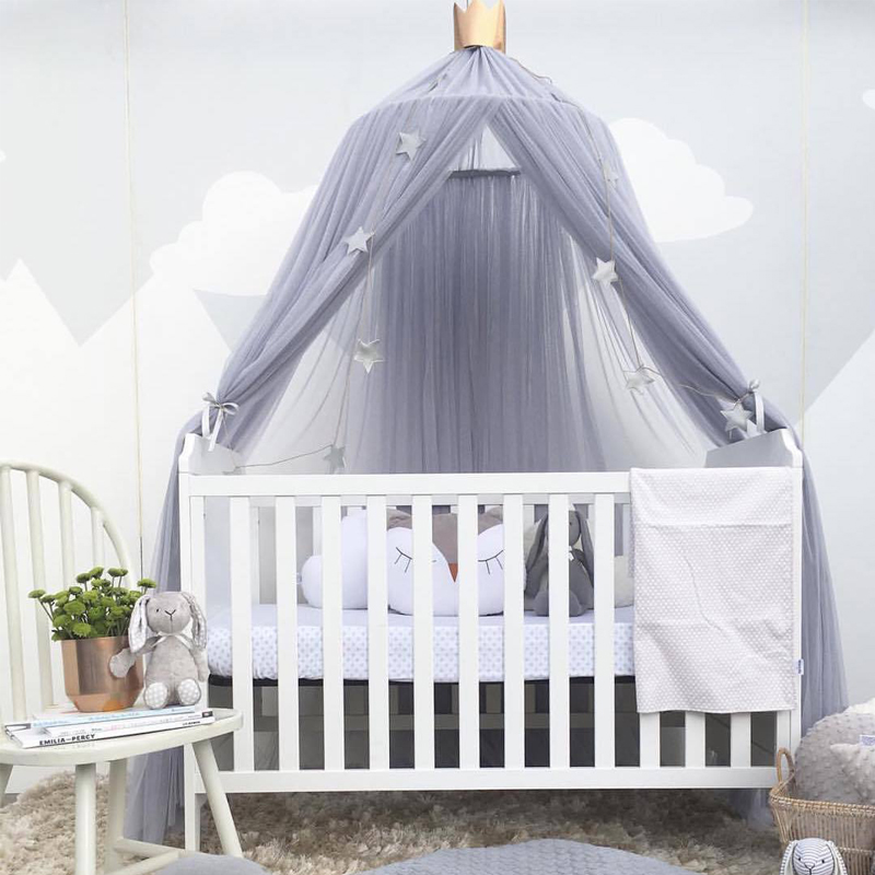 Childrens Room Decoration Curtain infantil Playtent Princess Hung Dome Mosquito Net Baby ...