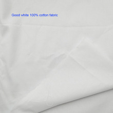 Good Wide 150cm White 100% Cotton Fabric Natural Soft Quilting Patchwork Sewing Material Diy Clothing Shirt