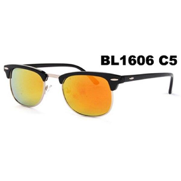 de119fe80daf9 Nova Moda Metade Quadro UV400 Shades Eyewear Óculos de Sol Das Mulheres Dos  Homens Clássico Legal quente