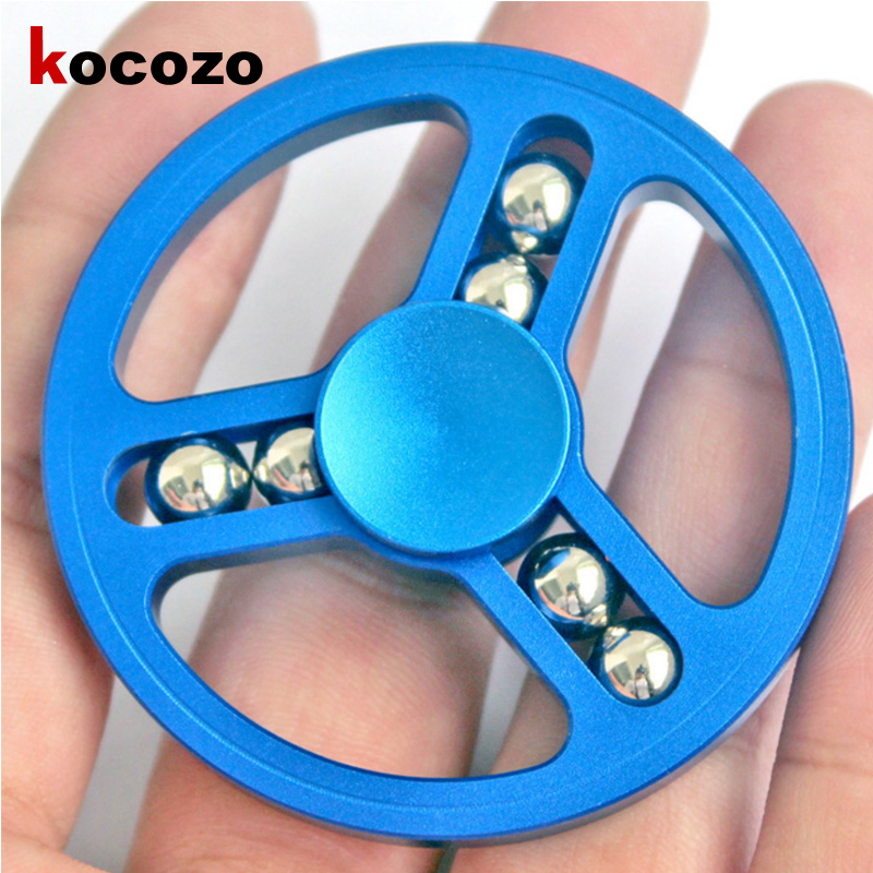 2017 EDC Fidget Toys Pattern Hand Spinner Metal Fidget Spinner and ADHD Adults Children Educational Toys