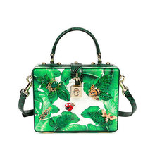 Stereo package printing leather handbag small insect Crossbody Bag ladies small summer fashion handbag