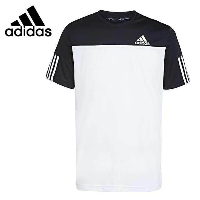 Original New Arrival Adidas Climacool Men's Tennis T-shirts short sleeve  Sportswear
