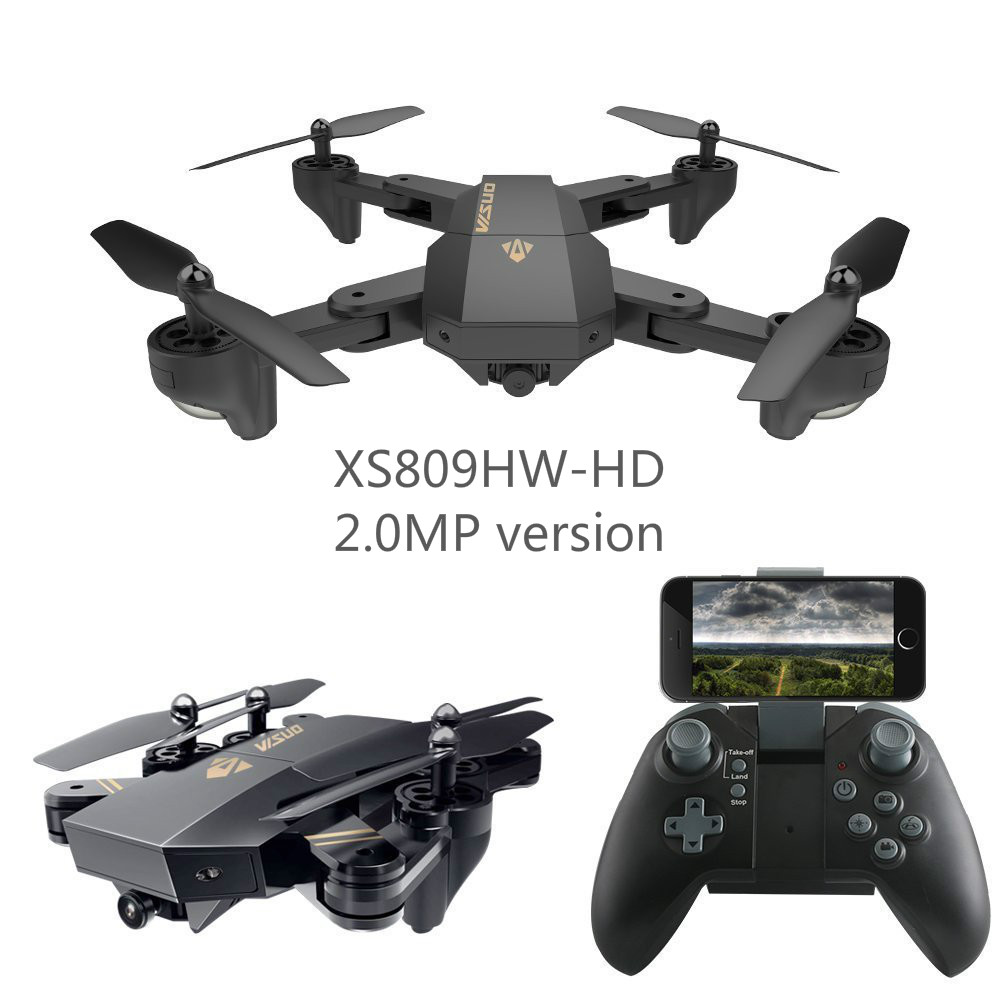 EBOYU(TM) Foldable RC Quadcopter Drone XS809HW-HD w/ Flight Path FPV VR Wifi 720P HD 2MP HD Camera Gyro Remote Control Drone RTFEBOYU(TM) Foldable RC Quadcopter Drone XS809HW-HD w/ Flight Path FPV VR Wifi 720P HD 2MP HD Camera Gyro Remote Control Drone RTF