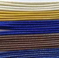 Шнуры из натуральной кожи черного цвета 5 мм * 200 мм для браслета, веревка из натуральной кожи для кожаных украшений своими руками