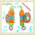 Mamas papas stroller music toy mobile in cot baby teether  toys 0-12 months rattles  hanging stroller for dolls toys for kids