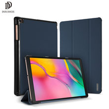 DUX DUCIS Leather Smart Case For Samsung Galaxy TAB A 8.0 2019 Flip Magnetic Cover For Samsung TAB A 8.0 10.1 2019 A2 10.5 2018(China)