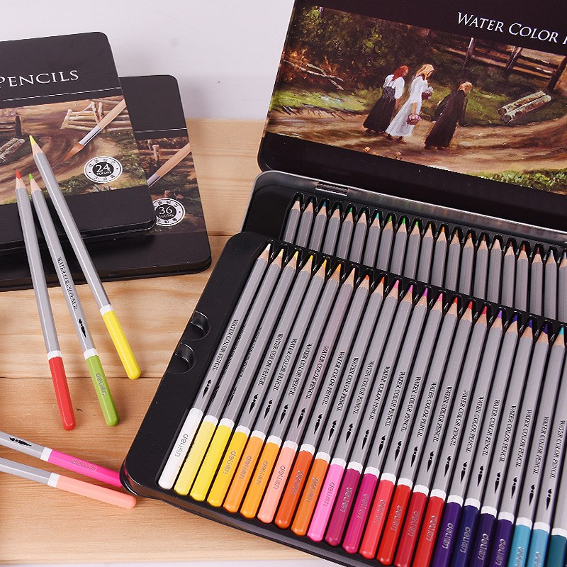 Watercolor Pensils - Sets of 24, 36 and 48 Colors