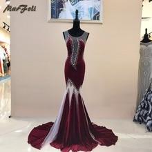 Marfoli Sexy Evening Dress 2020 Floor-length Mermaid Sexy Fo