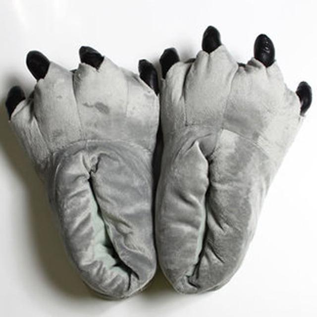 Animal Kigurumi Slippers For Kids & Adults Women Men Onesie Pajama Shoes Cartoon Unicorn Dinosaur Pikachu Winter Warm Shoes