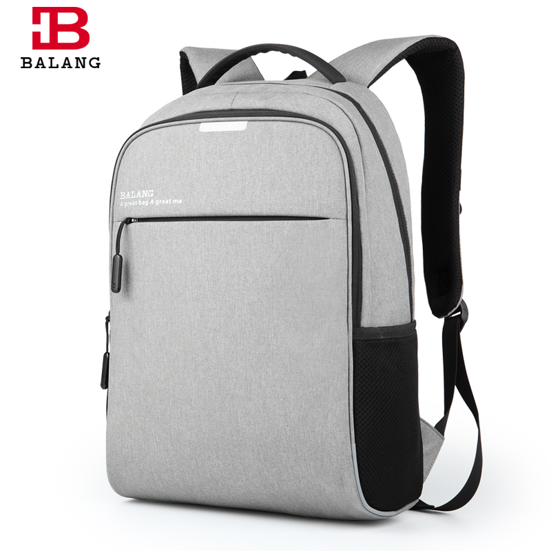 New BALANG Brand Korean Style Men Business 15.6 Laptop Notebook Practical Backpack Casual Fashion Travel Backpacks Luggage Bags yeso brand fashion korean style casual korean nylon men laptop backpack school teenager stylish backpacks boys girls travel bags
