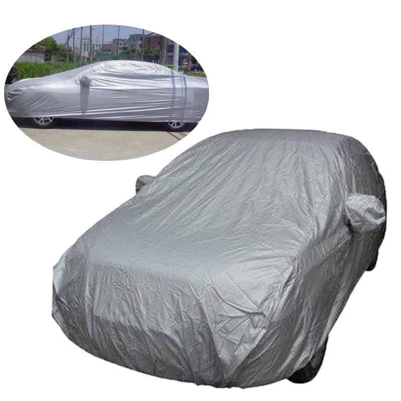 Bâche de voiture complète Protection solaire intérieure extérieure chaleur UV neige Protection solaire anti-poussière Anti-UV résistant aux rayures berline costume universel