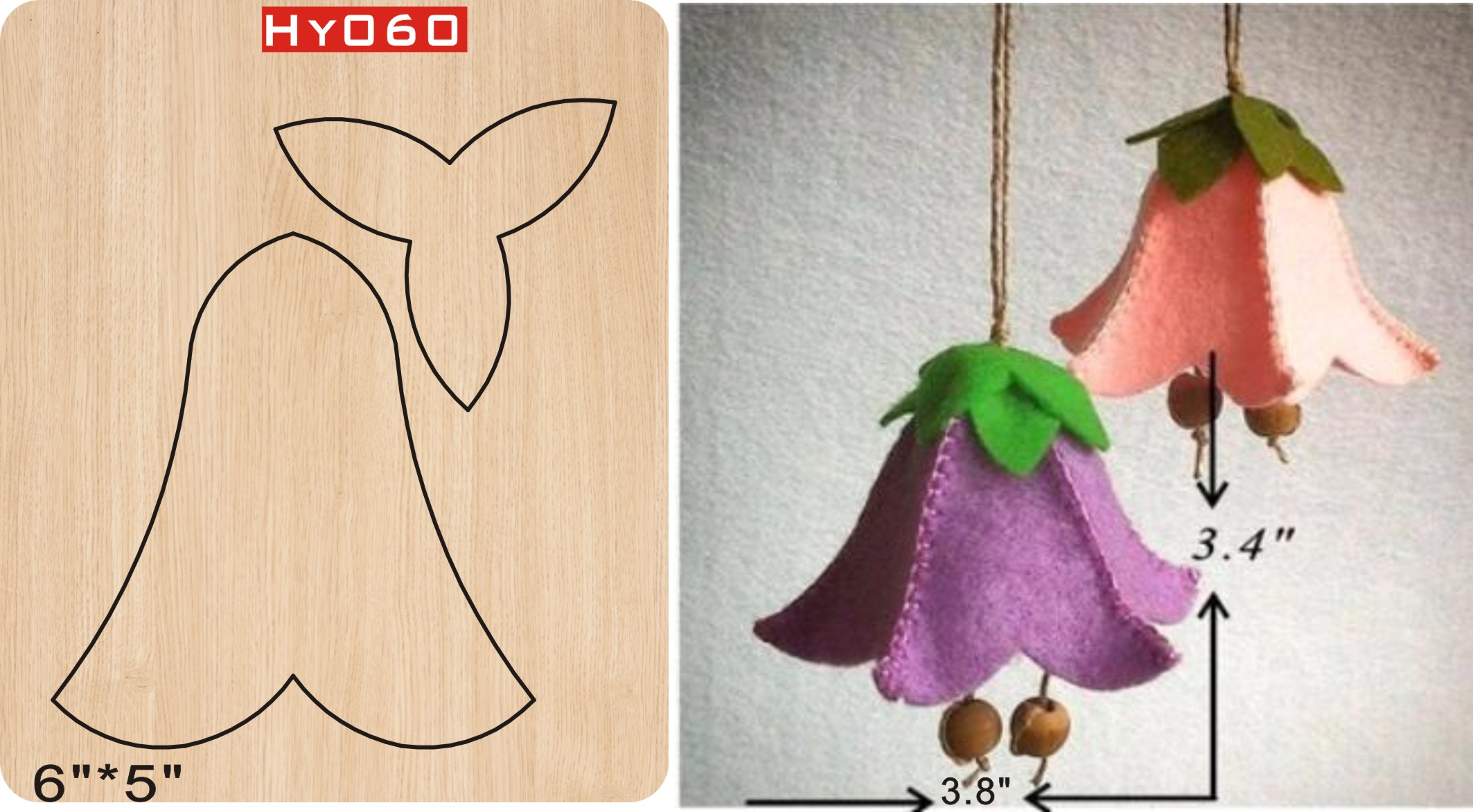 Wind bell Pendant cutting dies 2019 new die cut wooden dies Suitable for common die cutting machines on the market in Cutting Dies from Home Garden