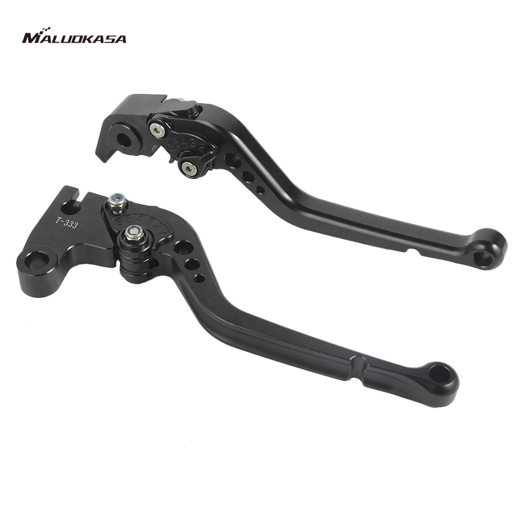 MALUOKASA CNC Brake Clutch Levers For Triumph SPEED TRIPLE 2011-2013 Triumph DAYTONA 675 R 2011 2012 2013 Motorcycle Accessory adjustable billet extendable folding brake clutch levers for triumph daytona 675 r 2011 2015 speed triple 1050 r 12 15 2013 2014