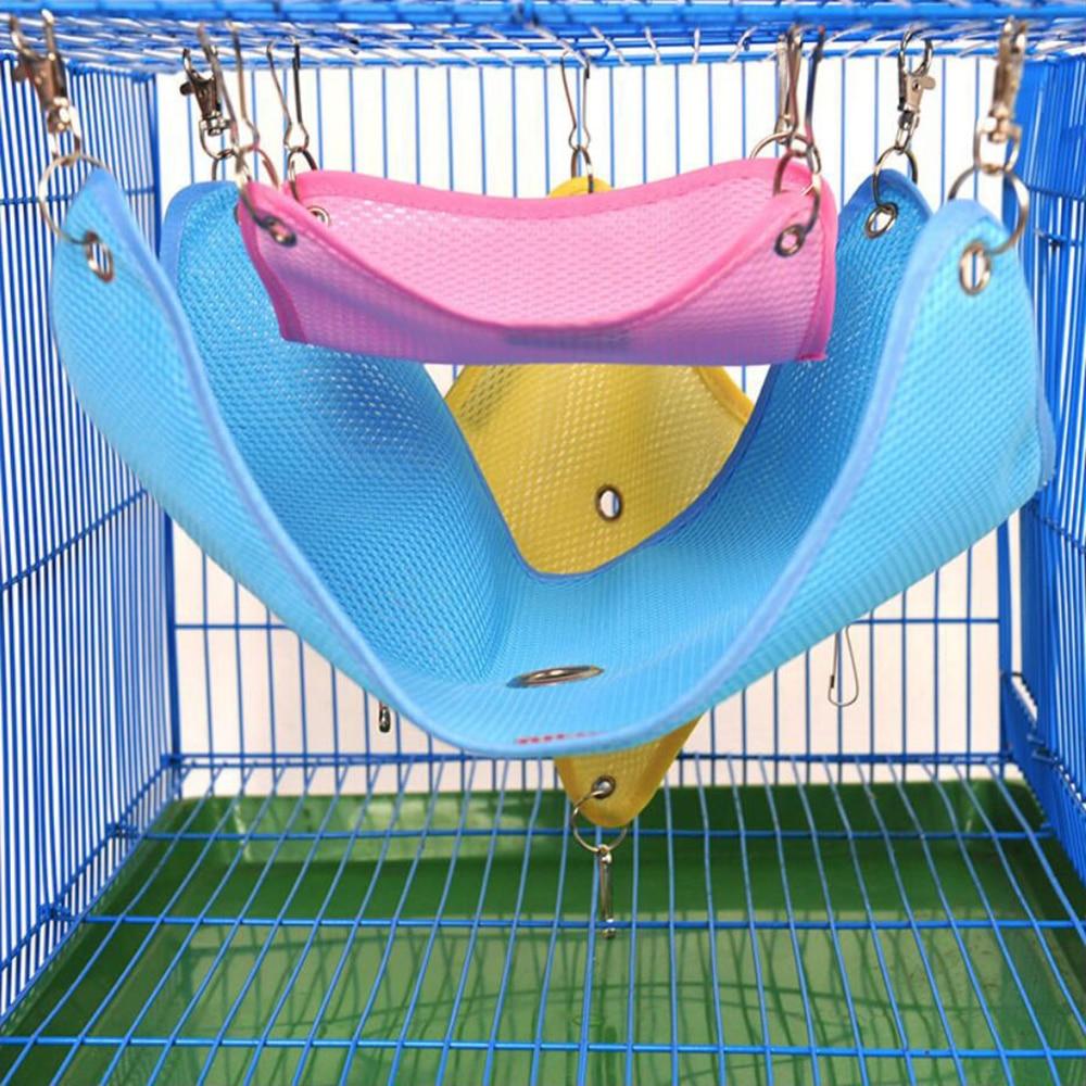 Bola Hamster Cage Hammock For Rats Animals Small font b Pet b font Hamster Toy Hammock