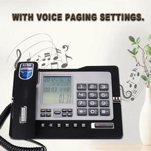 Image 4 - G026 Simple Style Fixed Telephone Landline Desk Phone for Home Office Desktop Telefono Fijo Portable