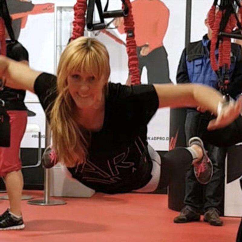 Nuovo Arrivo Pilates Sospensione Fionda Elastica Pratica Attrezzature Bungee Allenamento Esercizio di Resistenza Attrezzature Hanging Formazione Cinghie
