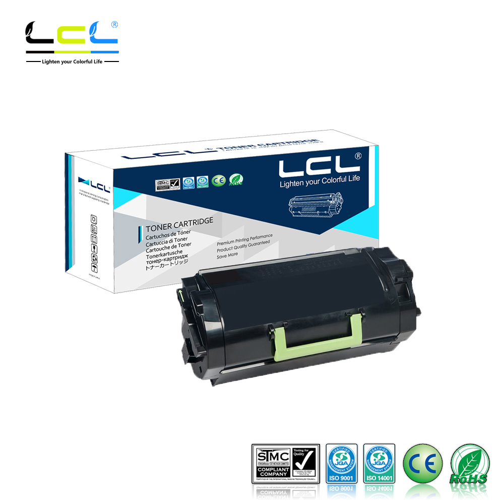 LCL 62D1H00 (1-Pack Black) Toner Cartridge Compatible for Lexmark MX710DE/MX710DHE/MX711DE/MX711DHE/MX711DTHE/MX810DE/DFE/DME lcl 150 xl 150xl 3 pack black ink cartridge compatible for lexmark s315 s415 s515 pro715 pro915