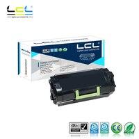 Lexmark mx710de/mx710dhe/mx711de/mx711dhe/mx711dthe/mx810de/dfe/dme와 호환되는 lcl 62d1h00 (1 팩 검정색) 토너 카트리지