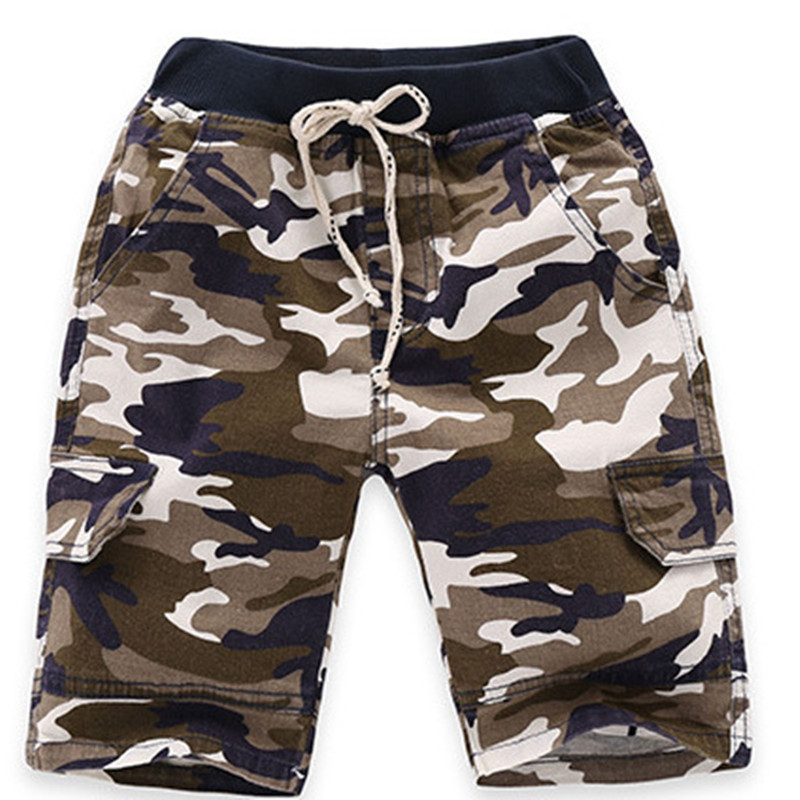 VIDMID 3-7Y boys   shorts   plaid baby boys   shorts   summer children striped kids camouflage trousers boy casual   short   pants 4074