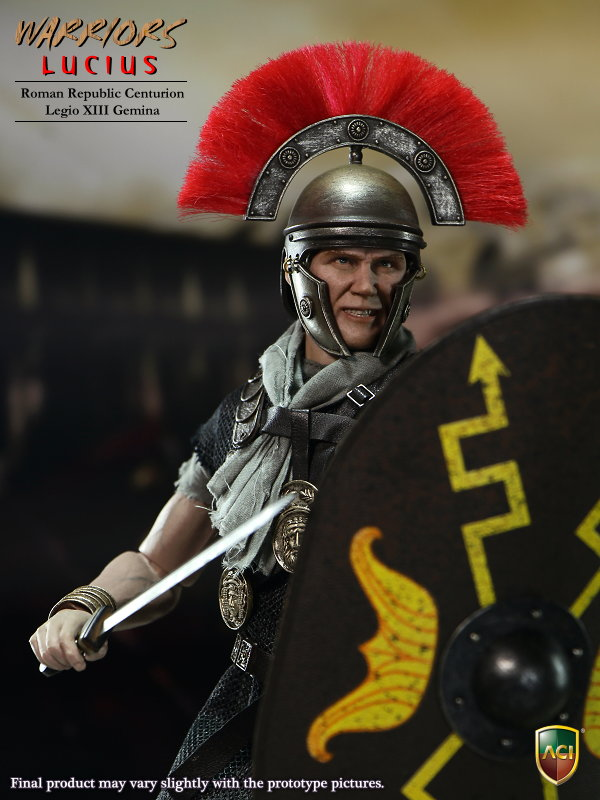 Toys 1/6 Warrior Lucius Action Figure Roman Republic Centurion XIII Gemina Collection Model Toys With box 1