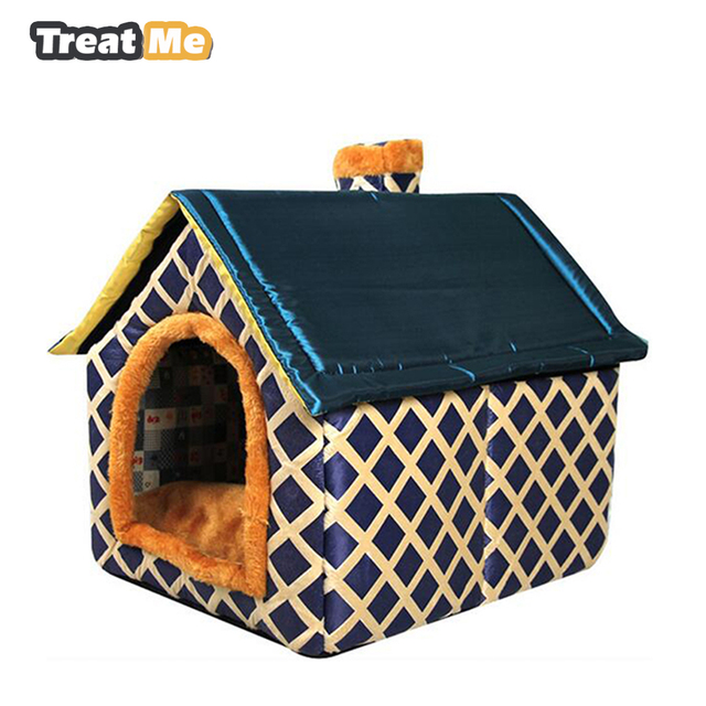 Portable Indoor Dog House Washable Beds For Large Dogs Eco Friendly Cat Camas