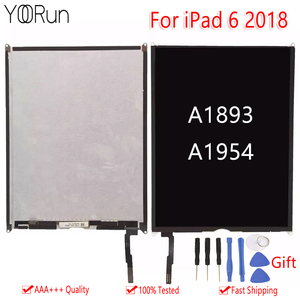 1PCS Original AAA Display For 9.7 2018 Version For iPad 6 6th Gen A1893 A1954 LCD Screen Digitizer Replace 100% Tested Free Tool(China)