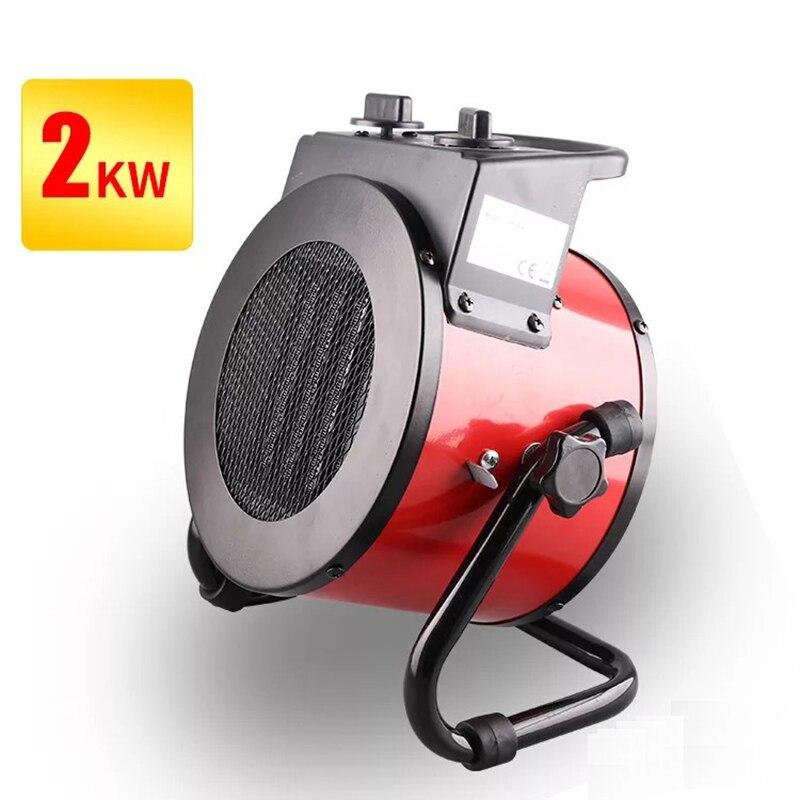 Appareil de chauffage électrique domestique 2000 w réchauffeur Commercial 3000 w ventilateur de chauffage Machine de chauffage électrique PTC céramique Machine à Air chaud