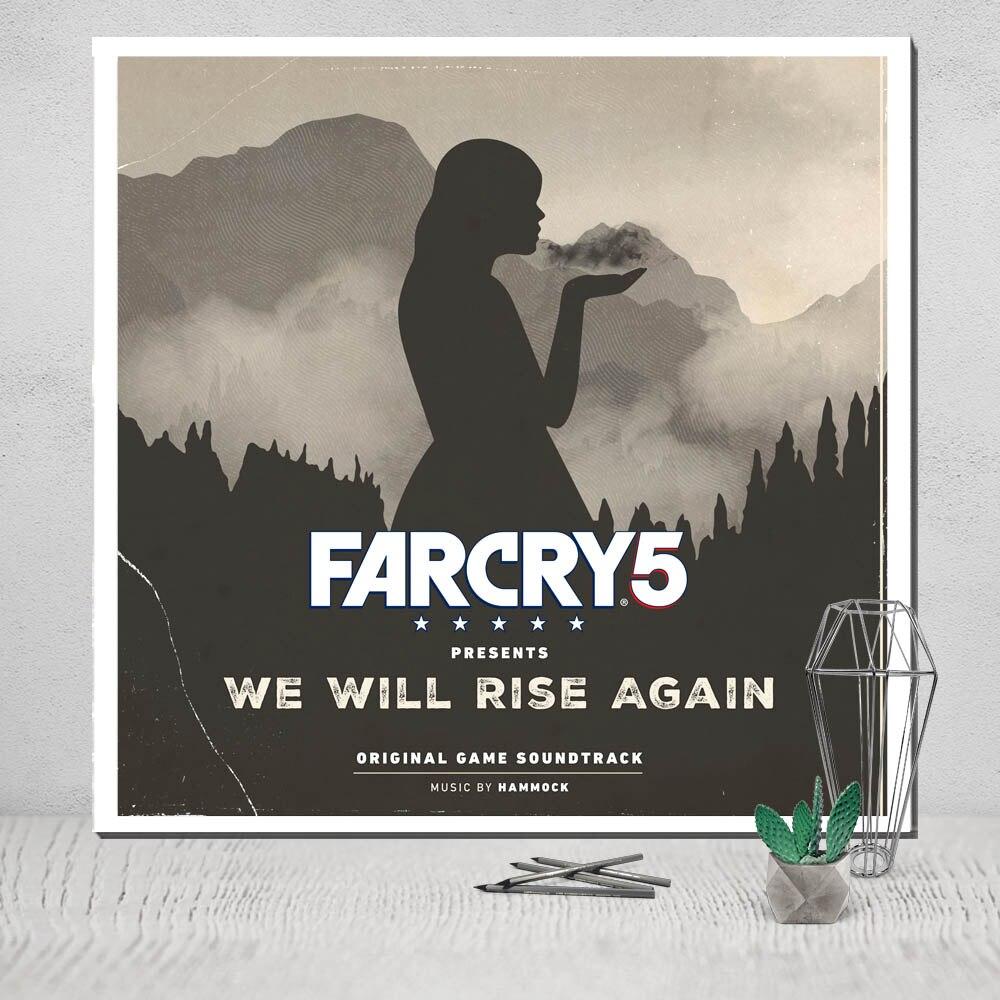 Far Cry 5 холст картины Плакат Картина маслом скандинавский Симпсоны панелей украшение в комнате Мир танков pop5