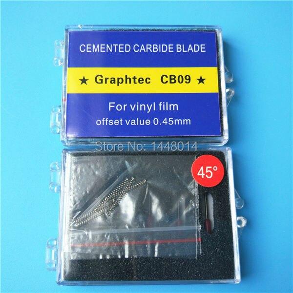 Image 2 - Best price 30 60 45 degree Icontek Graphtec CB09 CE5000 CE6000  cutter plotter cutting blade 10pcs wholesalePrinter Parts   -