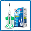 New YASI Rechargable Waterproof Sonic Electric Toothbrush FL-A12 With UV Sanitizer 5 Operation Modes -- Color Green