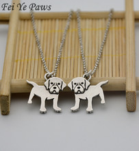 1Piece Vintage Color Hippie Labrador Pendant Maxi Necklace Boho Canada Dog Necklaces Collier Femme For Women Choker Men Jewelry(China)