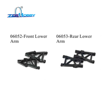 RC CAR SPARE PARTS FRONT/REAR LOWER ARM FOR HSP 1/10 ON ROAD CAR 94177 (part no. 06502, 06503)