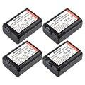 4 unids alpha np-fw50 fw50 npfw50 batería recargable para sony a37 7 7r II 7 S a7R a7S a5000 II SLT-A37 NEX-7 DSC-RX10 RX10 II III