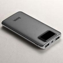 Externa de Porta Tocha para Samsung Hoco Upb05 10000 MAH Power Bank Bateria Dupla USB Móvel Inteligente Display Digital LCD Galaxy S7