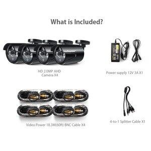 Image 2 - Камера видеонаблюдения, 4 канала, 1200TVL, AHD, только 4x1080P, 2 МП