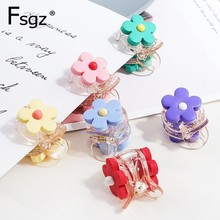 Hyuna Candy Color Hair Accessories Solid Partysu Flower Hair Claw Clip Transparent Champagne Plastic Crab For Hair Lady Hairpin босоножки autonomous kl003 2015 partysu