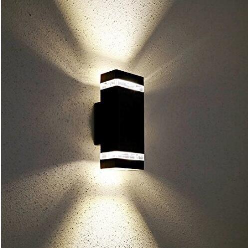 14 w levou lampadas de parede levou ao ar livre interior parede sconce moderno a prova
