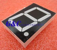 18 дюймов 1 деление синий светодиод 7 сегментный дисплей общий