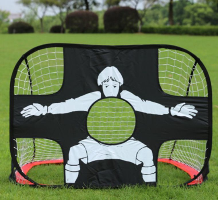 High quality!New Soccer net goal gate folding Small Children wire frame door portable training equipment,Free shipping! free shipping football goal portable goal kage 183x120x120 3kg