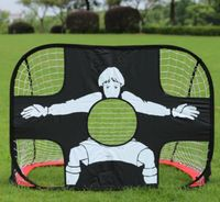 High quality!New Soccer net goal gate folding Small Children wire frame door portable training equipment,Free shipping!