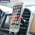 Регулируемая Suporte Celular Автомобильный Телефон Air Vent Горе Стенд Кронштейн для GPS телефон tutucu для iPhone 4s 5s 6 plus Смартфон